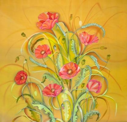 """""""Маки и пшеница"""" 2009 г."""