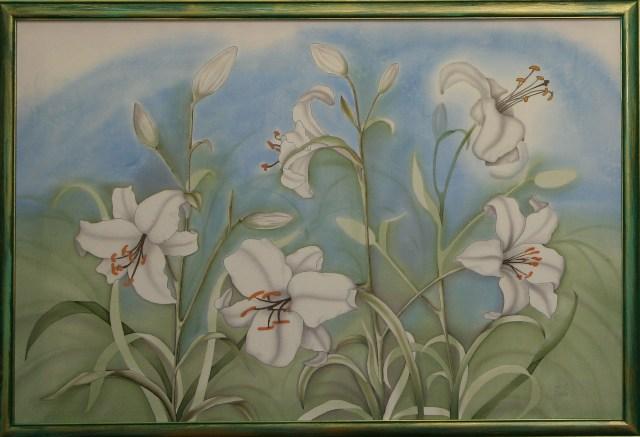 """""""Белые лилии""""2009 г."""