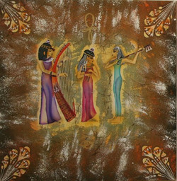 """""""Египетские музыканты""""  2011г."""