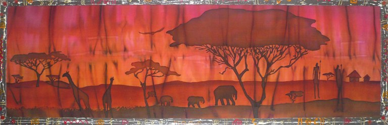 """""""Африканский пейзаж""""2010г."""