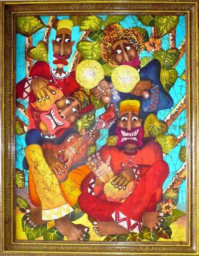 """""""Кубинские музыканты"""" 2008г."""