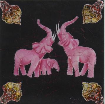 """""""Розовые слоны(вариации)"""" 2012"""
