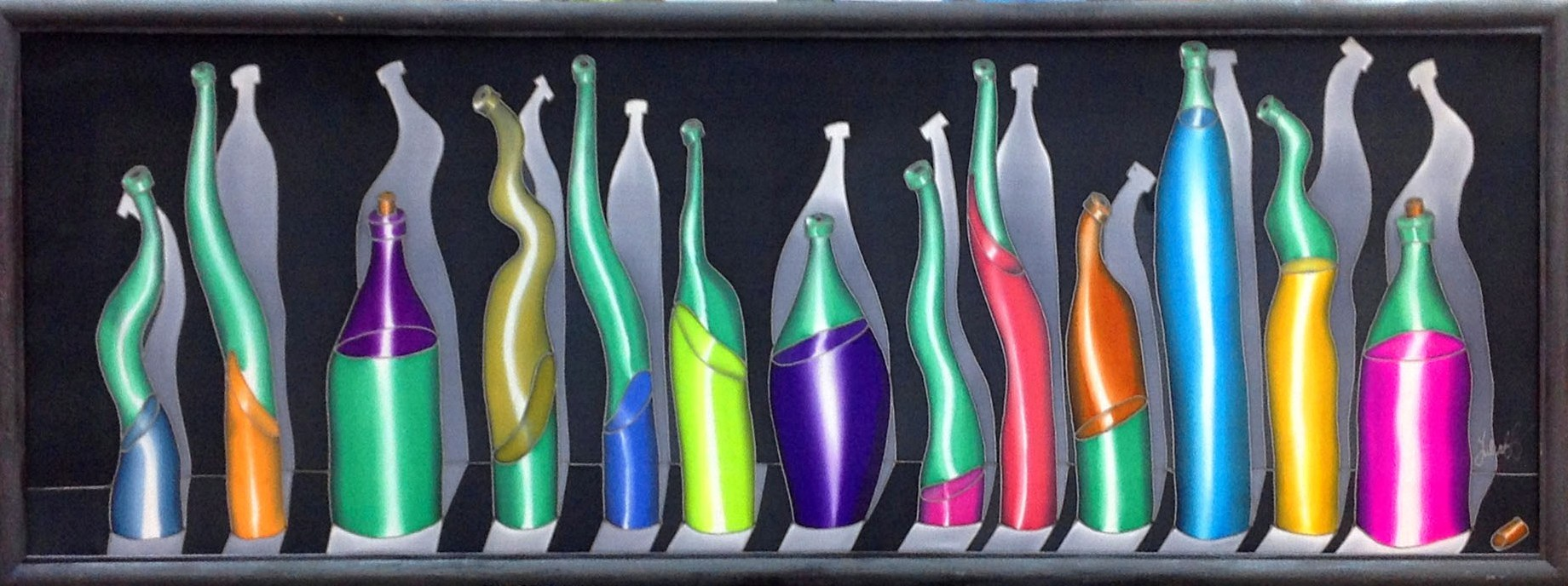 Говорящие бутылки. 2014 г.