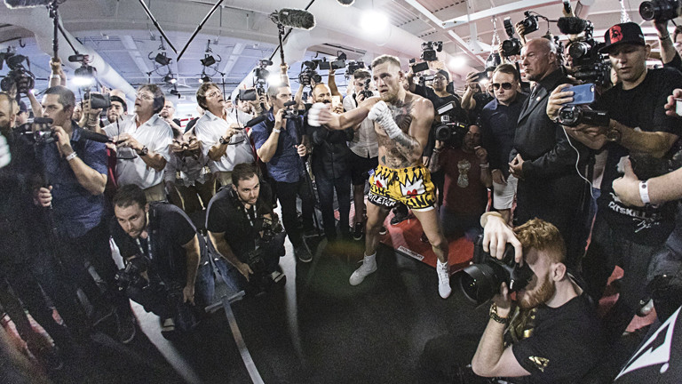 'Nobody knows what the hell Conor McGregor is going to do'