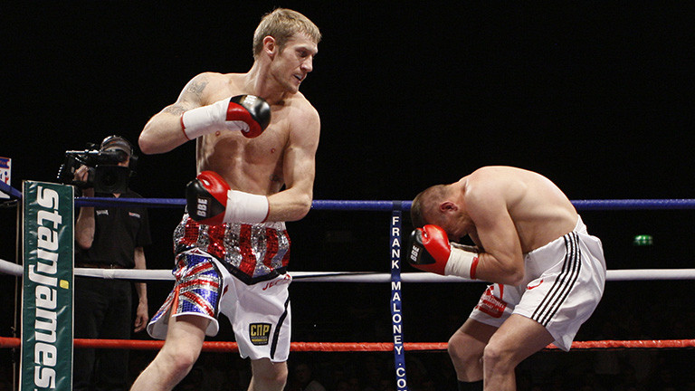 Tony Jeffries reveals what goes through a boxer's mind before a fight