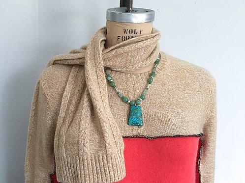 Cashmere Sweater Scarf Set
