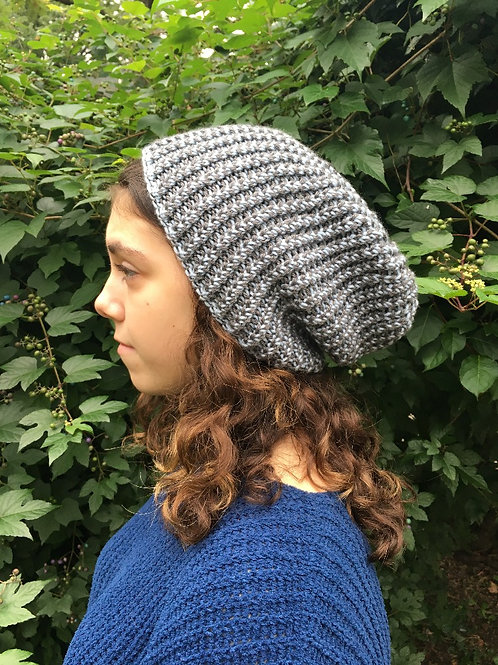 Cashmere Slouchy Hat Kit
