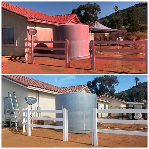 A Better View Exterior Cleaning San Diego Fire Retardant