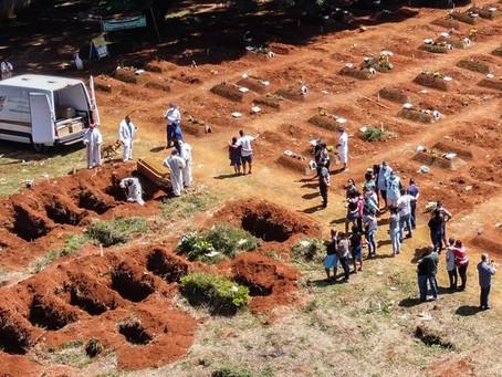 Brazil's highest daily Covid death toll as 3,650 perish