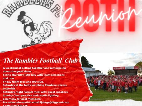 RAMBLER FC 90TH REUNION