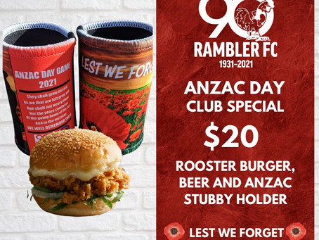 ANZAC GAME SPECIAL