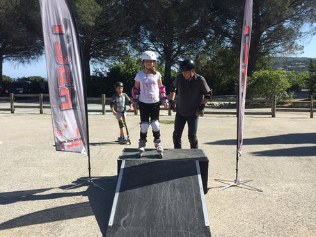 Inauguration du Skate Park à Sainte-Maxime!