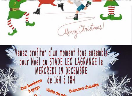 Venez fêter Noël en Roller