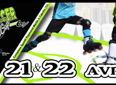 La Roller Soccer Kids Cup les 21 & 22 avril prochain à Cabries !