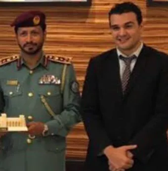 Major General Saif AlZari Al Shamsi