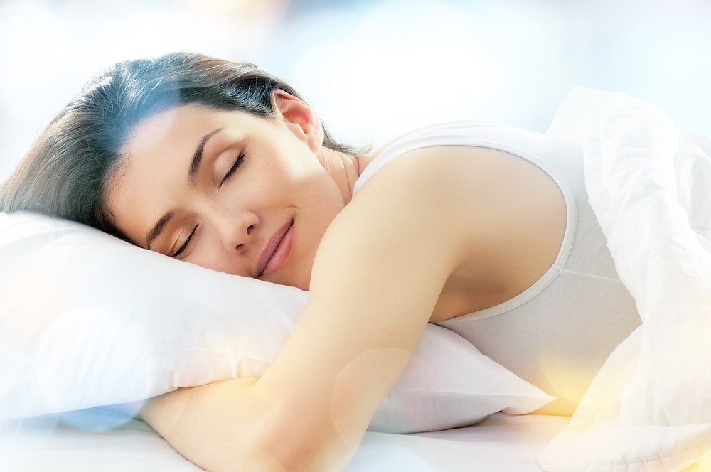 Woman sleeping on Pillow Imperial Cleaning Services Blog