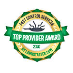 Imperial Pest Prevention Top Provider Award