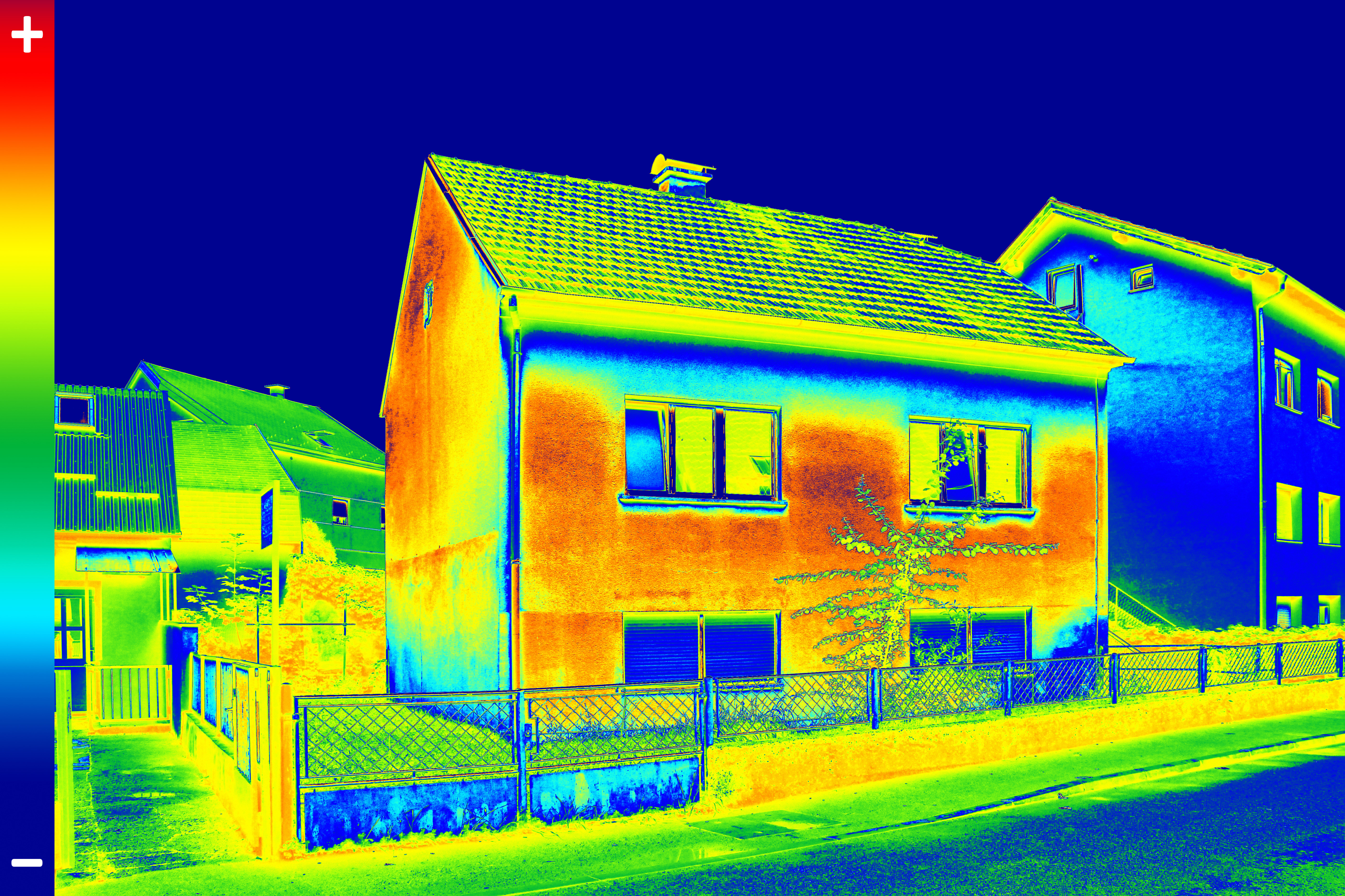 Thermography assisting WDO/WDI