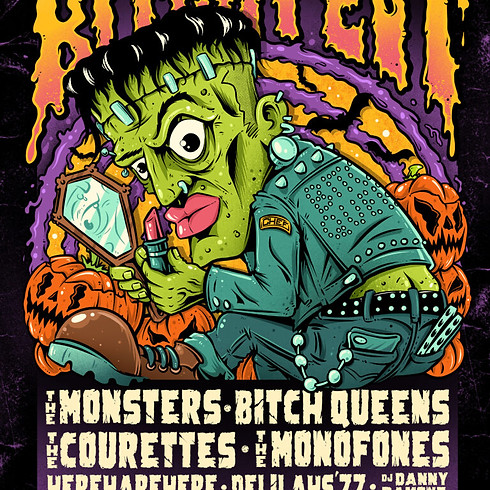 The Monofones at Bitchfest 2021