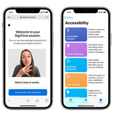 Apple previews powerful software updates designed for people with disabilities