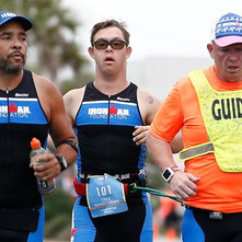 Chris Nikic shatters stereotypes to become first person with Down syndrome to complete an IRONMAN