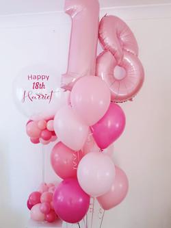19th Birthday Balloons