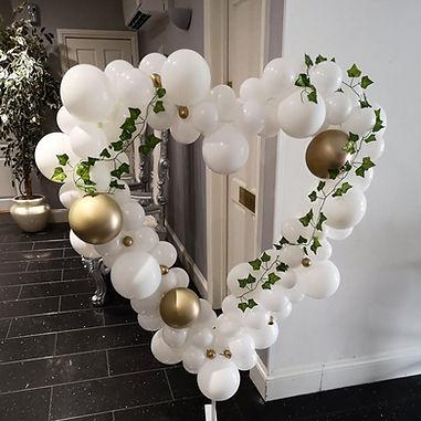 wedding organic balloons