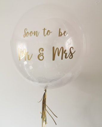Postponed Wedding bubble