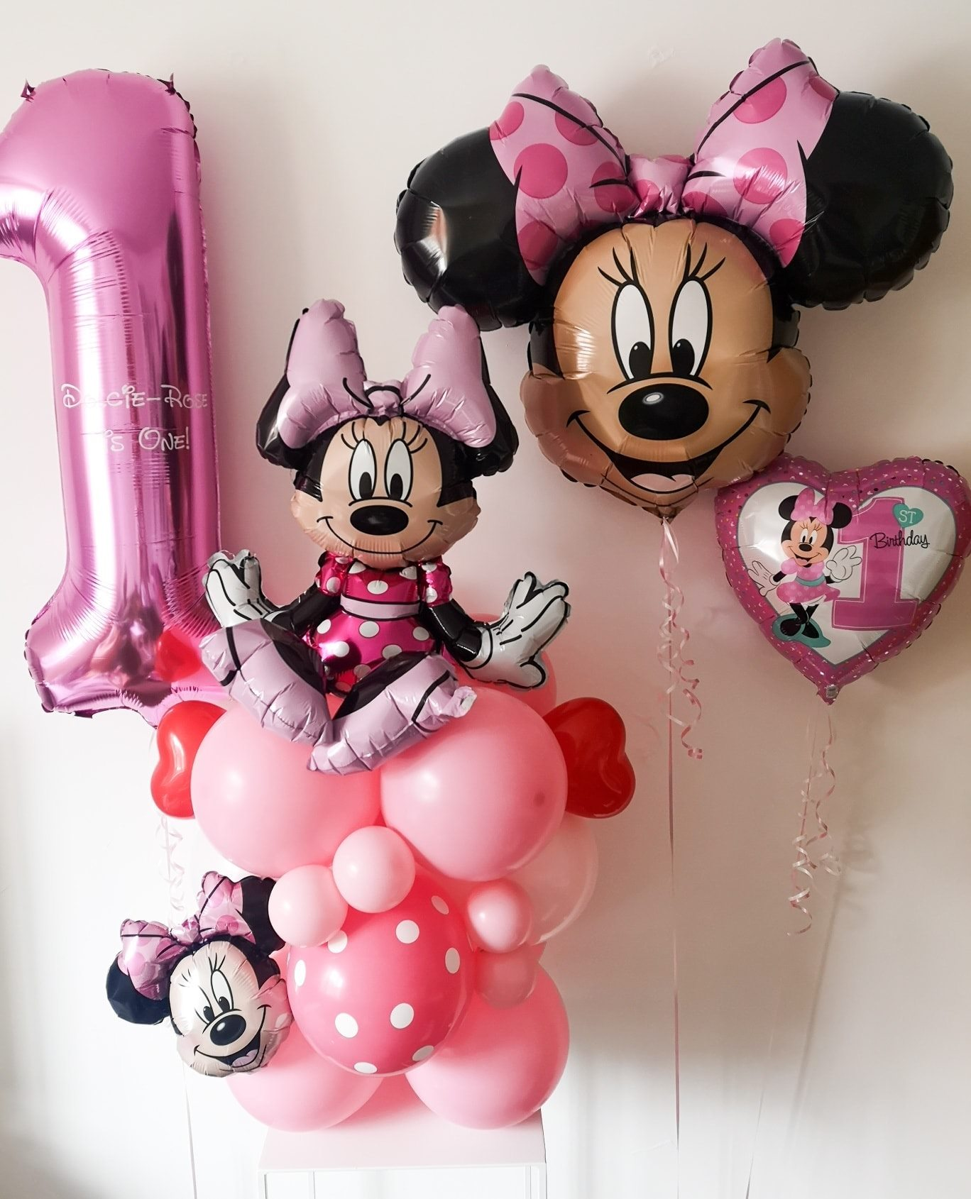 First Birthday Balloons