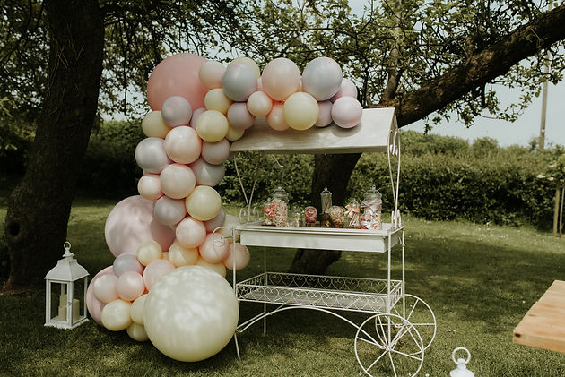 wedding balloons