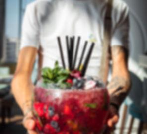 Kamile Kave - Bubblies - Big red cocktai