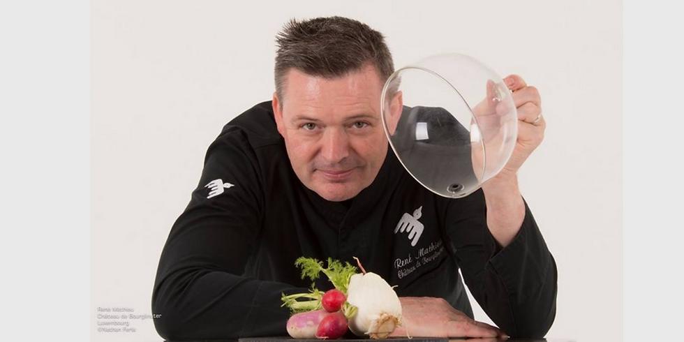 Diner à 4 mains avec René Mathieu, chef étoilé de la Distillerie