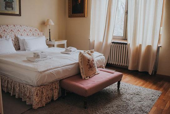 Chambre confort romantique
