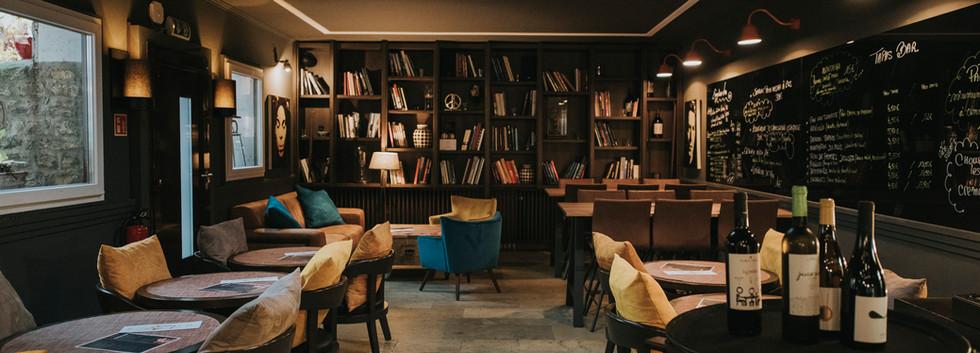 La salle de bar
