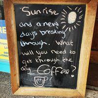 Daily black board