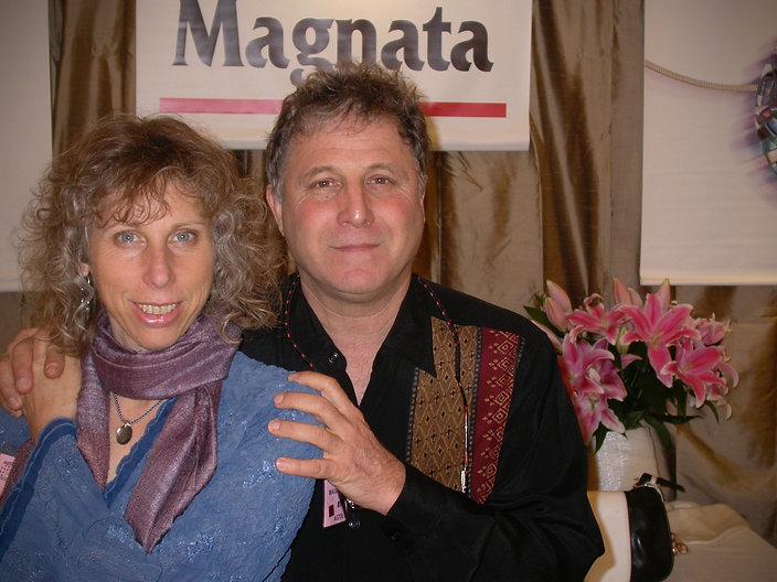 Maxam Magnata and Abigail Harris exhibiting at JCK Las Vegas