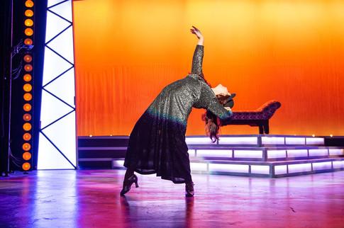 Erica Malachowski as The Narrator in JOSEPH AND THE AMAZING TECHNICOLOR DREAMCOAT