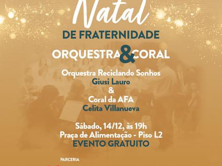 Orquestra & Coral da AFA se apresenta neste fim de semana em shopping de Foz