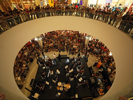 Orquestra Cordas do Iguaçu reúne 4 mil pessoas em apresentação única no Catuaí Palladium