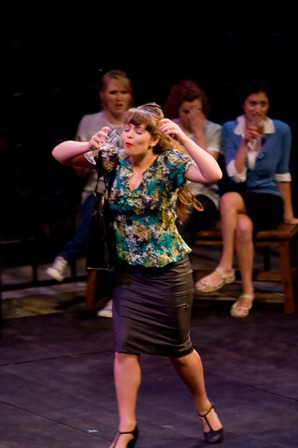 Erica Malachowski as Mistress Ford in THE MERRY WIVES OF WINDSOR
