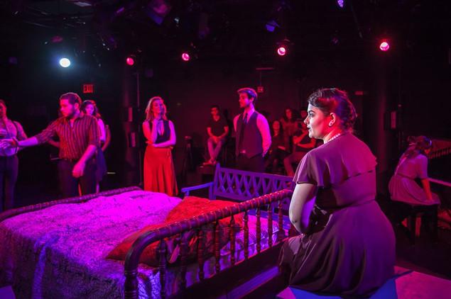 Erica Malachowski as Madame Armfeldt in A LITTLE NIGHT MUSIC