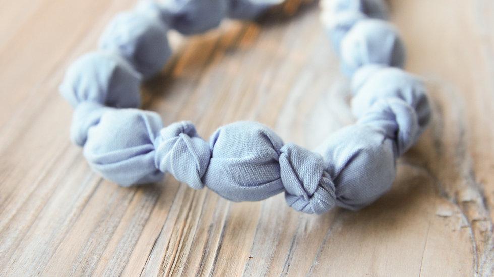 Tyghalsband - amningshalsband - baby blue