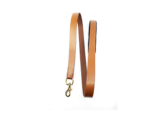 Rodeo Drive Leash Light Brown & Gold