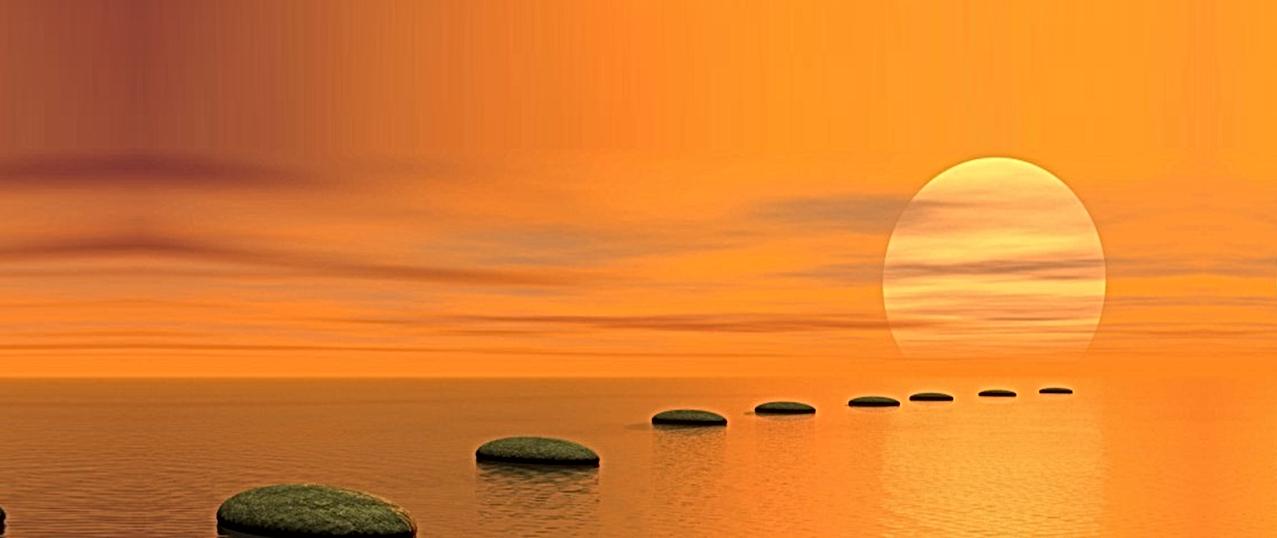 Banner Naranja con piedras sin leyenda.p