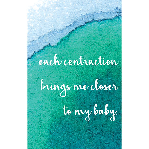 Birth Affirmations (set of 10)