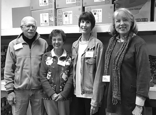 New officers for food pantry