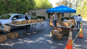 Masks Required for Food Pantry Distribution