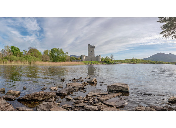 Ross Castle Panoramic Picture