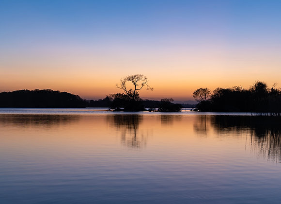 Sunset on Lough Leane