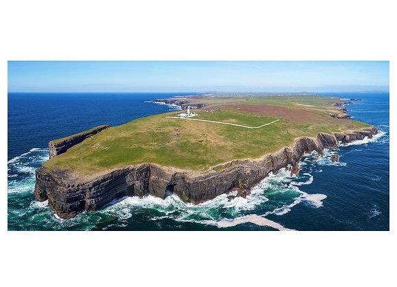Loop Head panoramic aerial